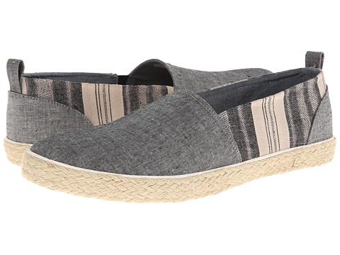 Adidasi Generic Surplus - Slip On - Linen - Black Chambray/Striped