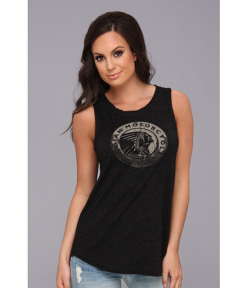 Bluze Lucky Brand - Indian Circle Tank - Charcoal