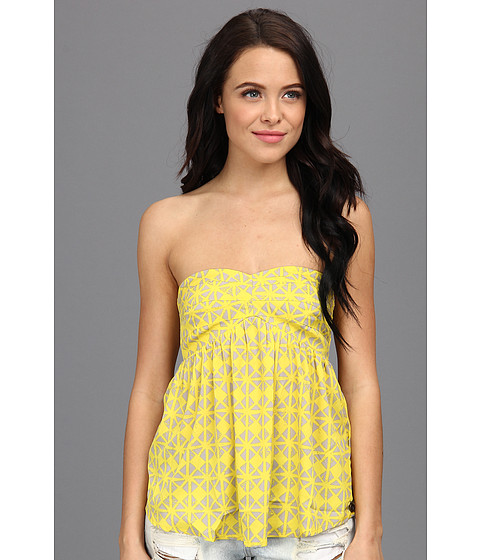 Bluze Roxy - First Impression Tank - Blazing Yellow Geo Print