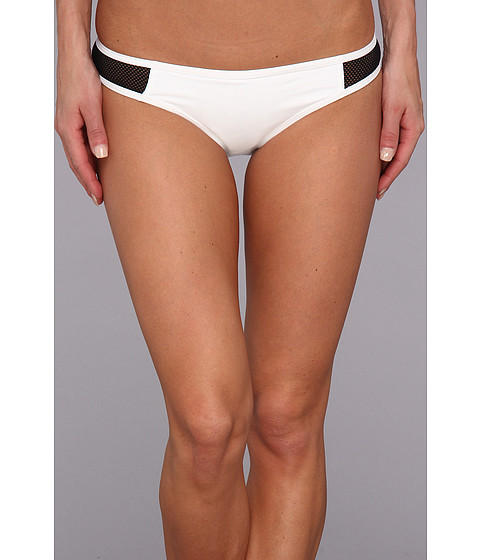 Costume de baie Hurley - Meshed Hipster Bottom - White