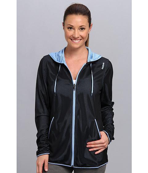 Bluze Reebok - Wor Mesh Full Zip Top - Black