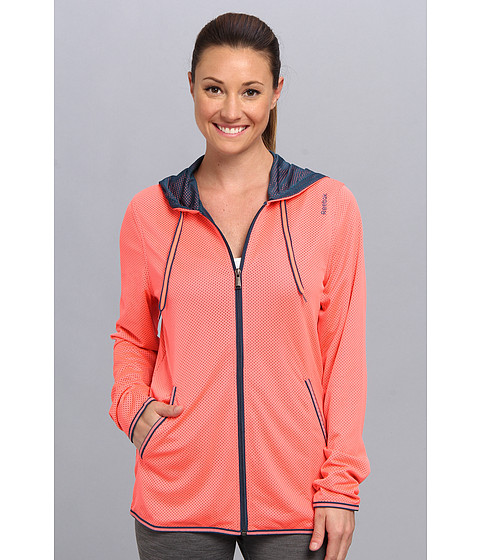Bluze Reebok - Wor Mesh Full Zip Top - Punch Pink S14-R