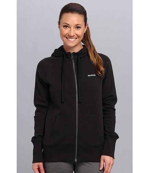 Bluze Reebok - Fleece BB Full Zip Top - Black