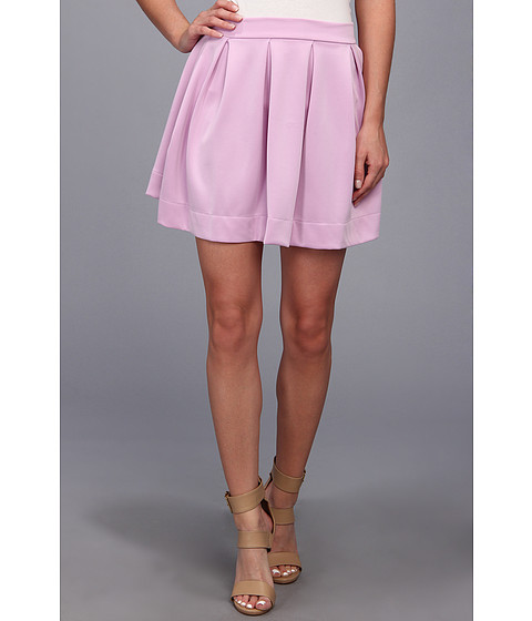Fuste Gabriella Rocha - Lauren Ashley Skater Skirt - Lilac Print