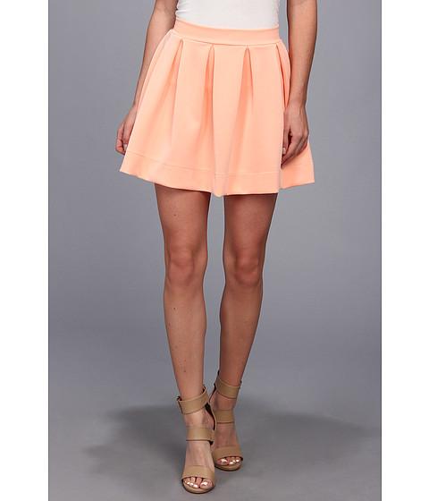 Fuste Gabriella Rocha - Lauren Ashley Skater Skirt - Peach