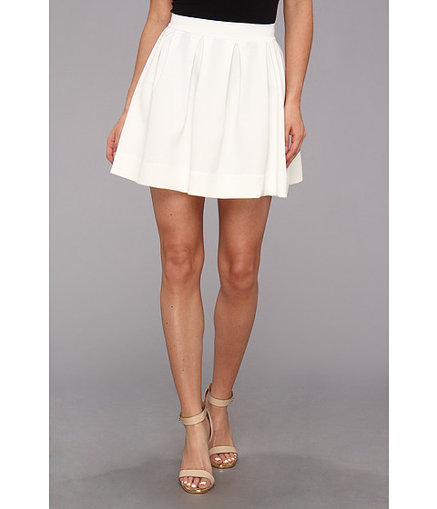 Fuste Gabriella Rocha - Lauren Ashley Skater Skirt - White
