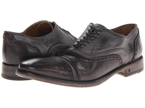 Pantofi John Varvatos - Fleetwood DB BAL OX2 - Metal Grey
