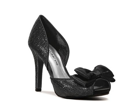 Pantofi Ann Marino - Epic Platform Pump - Black
