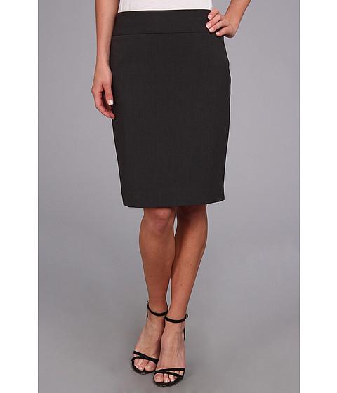 Fuste Anne Klein New York - Skirt w/ Yoke - Charcoal