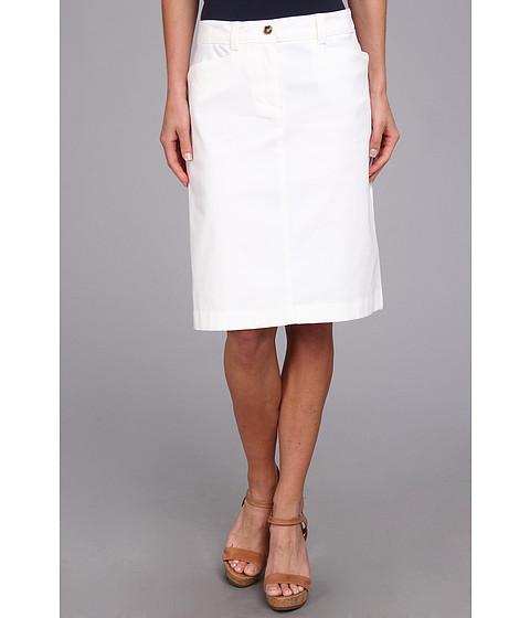 Fuste Jones New York - A-Line Skirt - White