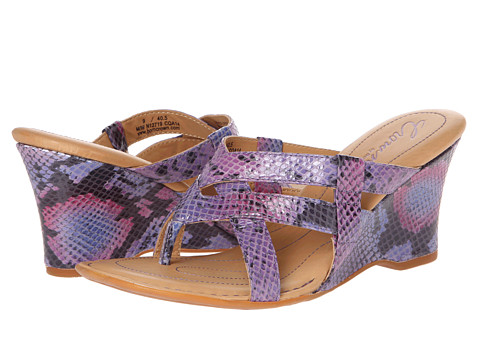 Sandale Born - Brescia - Crown Collection - Purple/Pink Snake