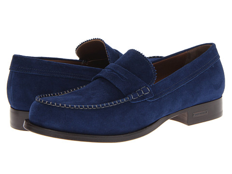 Pantofi DSQUARED2 - College Suede Loafer - Navy