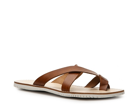 Pantofi Mercanti Fiorentini - Cross Strap Sandal - Brown