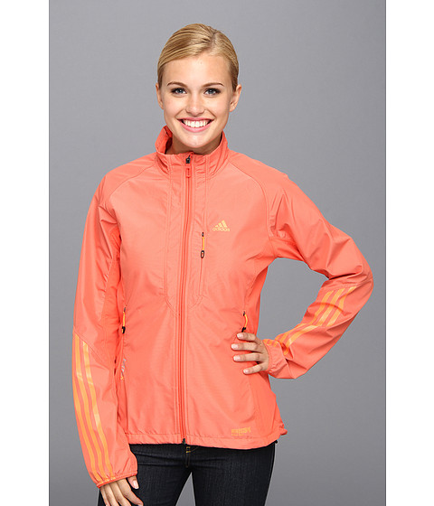 Bluze adidas - Terrex Hybrid WINDSTOPPERÃ'® Softshell Jacket - Bahia Coral/Glow Orange