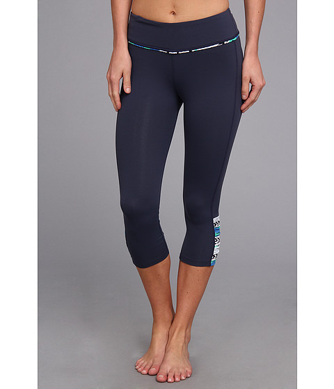 Pantaloni Carve Designs - Baya Capri - Indigo with Indigo Tulum