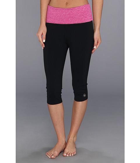 Pantaloni Carve Designs - Mira Tight - Black with Raspberry