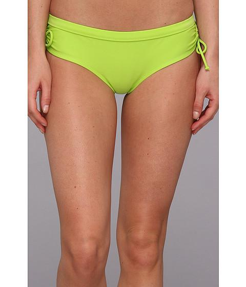 Costume de baie Roxy - White Wash Bikini Bottom - Neon Lime
