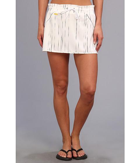 Fuste Lole - Speed Skirt LSW1021 - White Broken Stripe