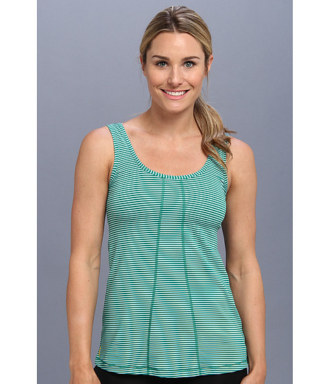 Bluze Lole - Fancy Tank - Glade Green Stripe