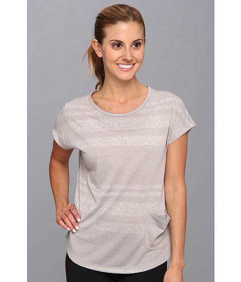 Bluze Lole - Lisa Top - Warm Grey Linen Stripe