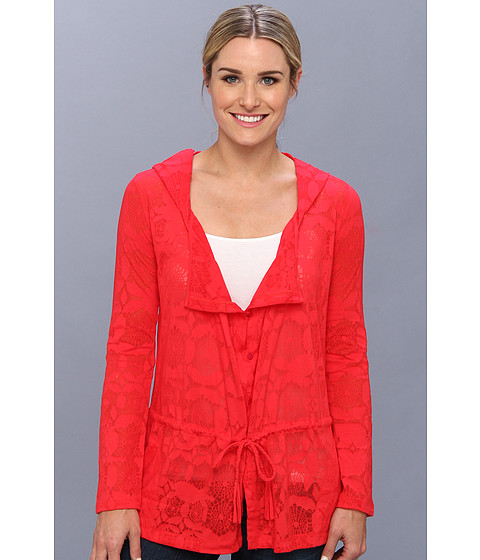 Bluze Lole - Mambo Cardigan - Sanaa Pomegranate
