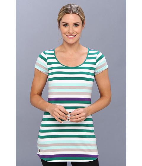 Bluze Lole - Patricia Tunic - Glade Green Multi Stripes