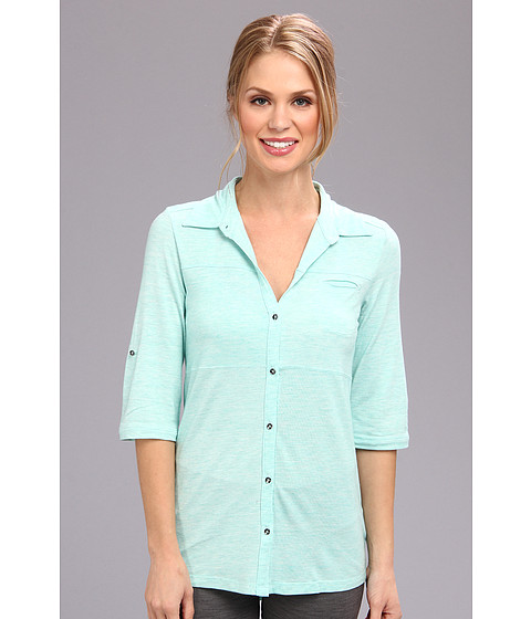 Bluze Lole - Rosy Shirt - Clearly Aqua Heather