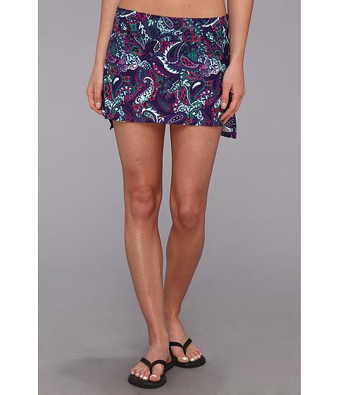 Costume de baie Lole - Barcelo Skirt - Island Purple Paisley