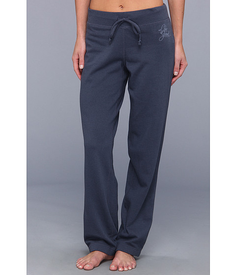 Pantaloni Life is good - French Terry Pant - Heather Blue