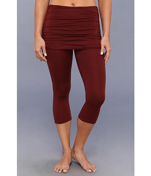 Pantaloni Prana - Cassidy Capri - Raisin