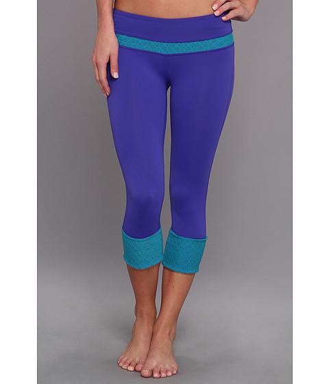 Pantaloni Prana - Clover Capri - Sail Blue