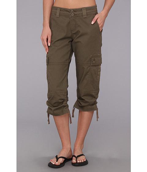 Pantaloni Prana - Kelly Capri - Mud
