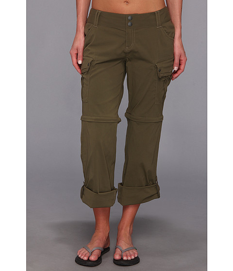 Pantaloni Prana - Sage Convertible Pant - Cargo Green