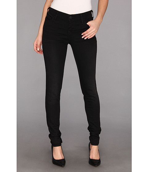 Blugi True Religion - Abbey High-Rise Super Skinny in Black Well - Black Well