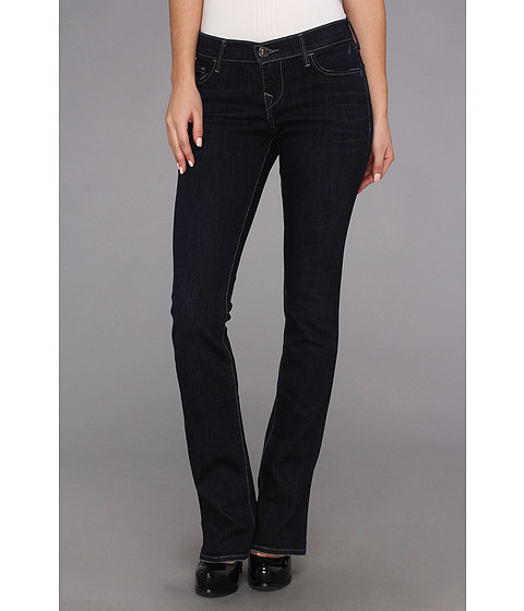 Blugi True Religion - Lexy Low-Rise Mini Bootcut in Baltic Ink - Baltic Ink