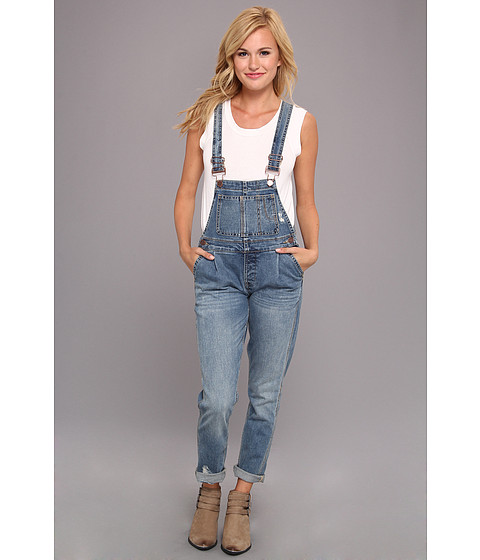 Blugi Blank NYC - All Over It Overalls in Bug Out - Bug Out