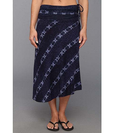 Fuste Patagonia - Kamala Convertible Skirt - Shibori Stripe/Classic Navy