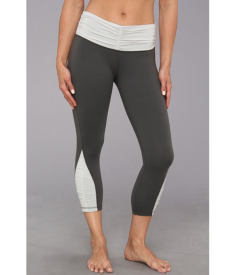 Pantaloni Patagonia - Pliant Fitted Crop Leggings - Forge Grey