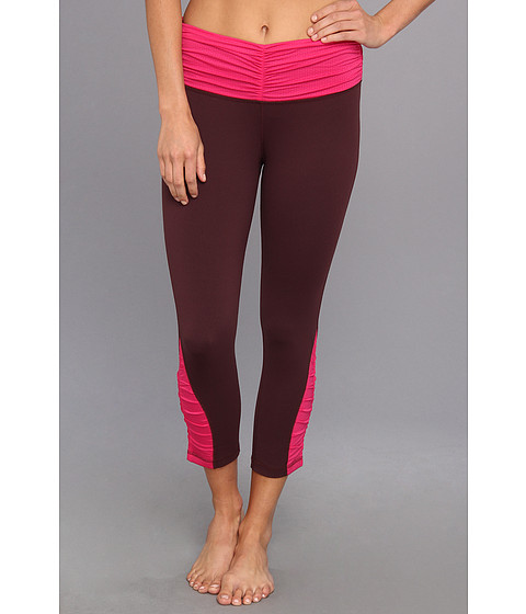 Pantaloni Patagonia - Pliant Fitted Crop Leggings - Whiskey Plum