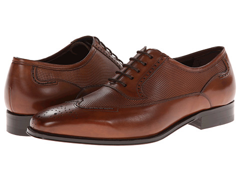 Pantofi Mezlan - Fisher - Cognac