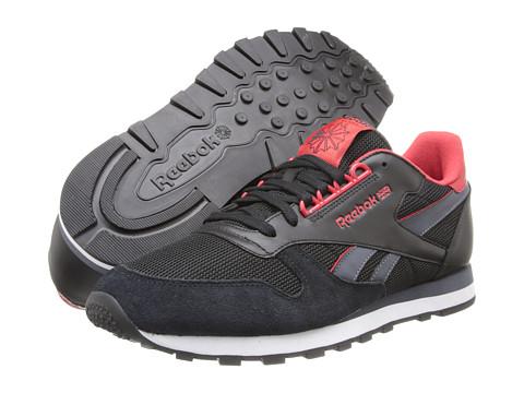 Adidasi Reebok - Classic Leather RE - Black/Stadium Red/Graphite/White