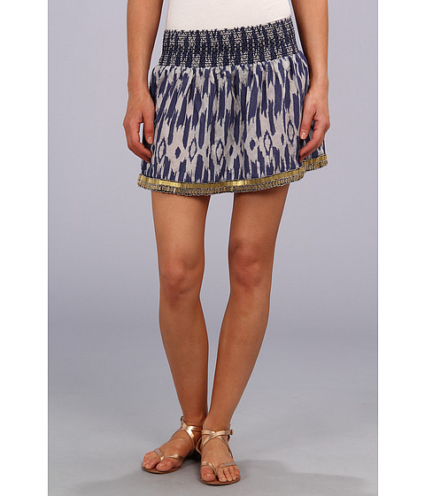 Fuste Dolce Vita - Amia Skirt - Cream/Blue