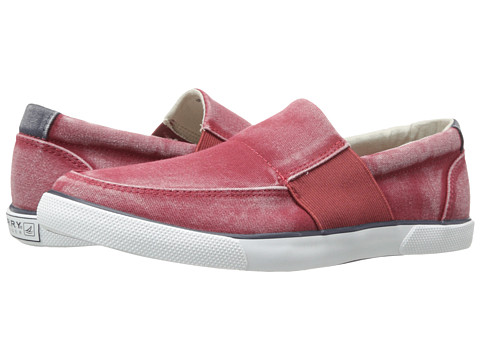 Adidasi Sperry Top-Sider - Low Pro Vulc Gore Slip On - Red Canvas