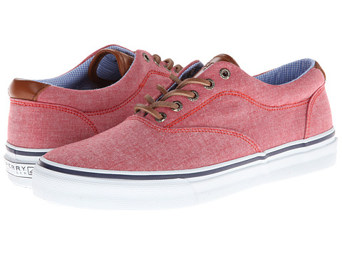 Adidasi Sperry Top-Sider - Striper CVO Chambray - Red Chambray