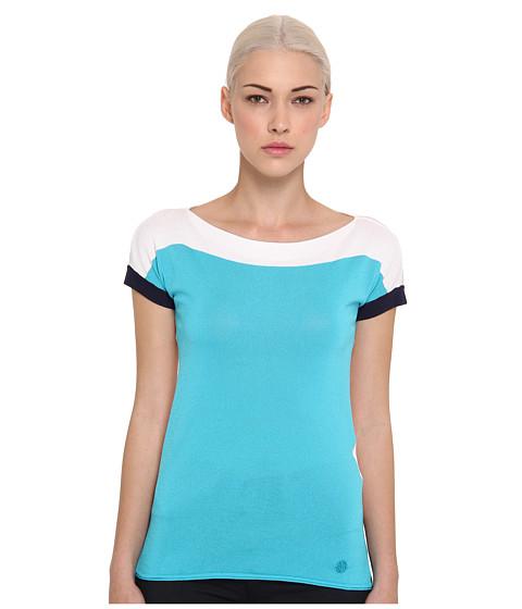 Bluze Armani Jeans - Sleeveless Blouse - Turquoise