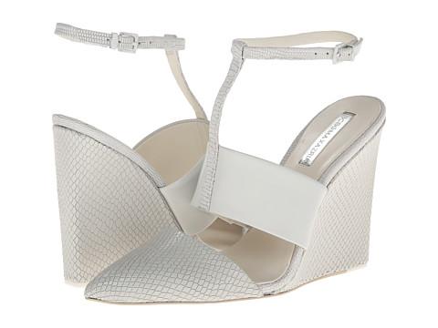 Sandale BCBGMAXAZRIA - Lister - White Box Leather/Wet Satin