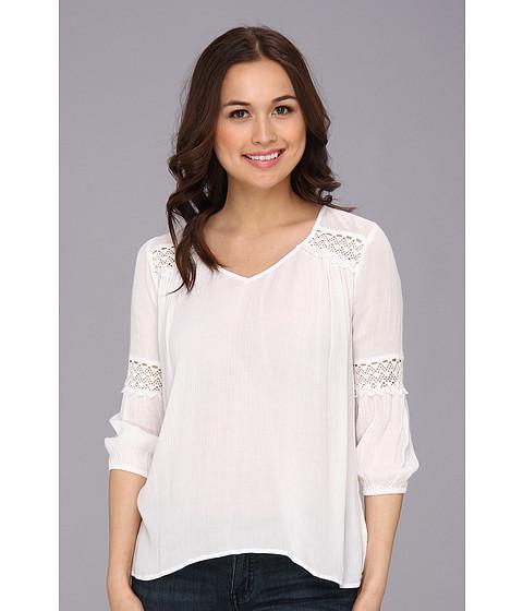Bluze ONeill - Harlow Crinkle Gauze Top - White