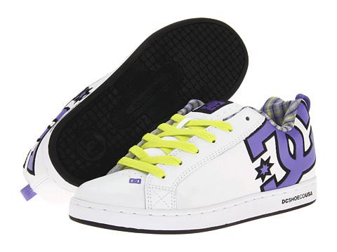Adidasi DC - Court Graffik SE W - White/Purple Opulence