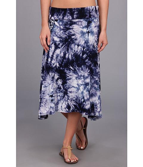 Fuste Culture Phit - Ali Fold Over Skirt - Blue Tye Dye