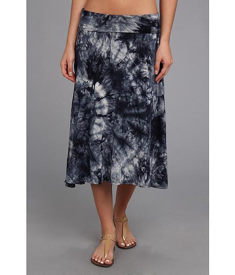 Fuste Culture Phit - Ali Fold Over Skirt - Dark Blue Tye Dye